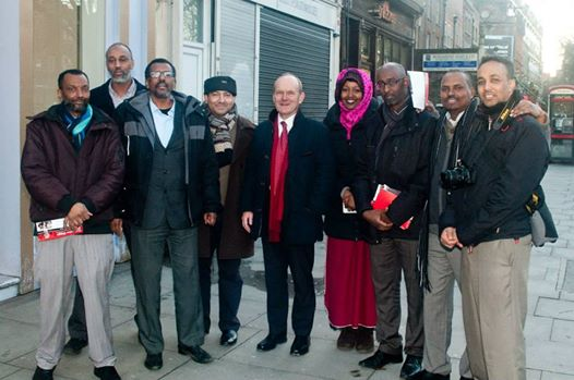 Somali Labour party members